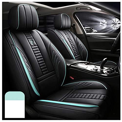 Fundas de asiento de coche personalizadas para BMW X3 E83 2002 – 2020, impermeable, juego completo de funda de cojín de piel sintética, color verde