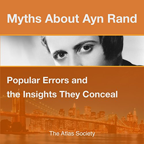 Myths about Ayn Rand audiobook cover art
