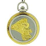 BOXX M5099.01 - Orologio da tasca, cinturino in metallo colore argento