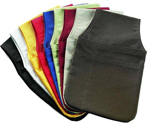 Gürteltasche mit Notizblock- und Kugelschreiberfach Stoff in verschiedenen Farben wählbar (10 = schwarz)