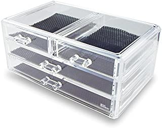 Ikee Design Jewelry & Cosmetic Storage Display Box 9 3/8