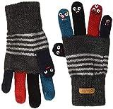 Barts Unisex Baby Puppet Handschuhe, Grau (Dark Heather 019h), One size (Herstellergröße: 39/42)