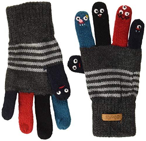 Barts Barts Unisex Baby Puppet Handschuhe, Grau (Dark Heather 019h), One size (Herstellergröße: 39/42)
