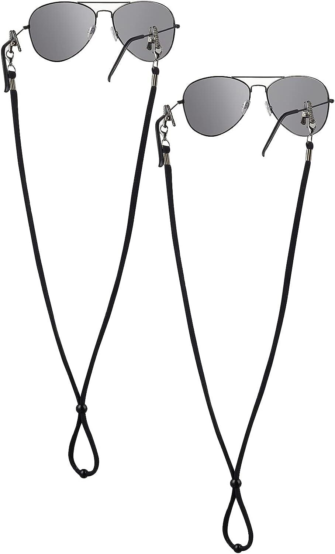 Eye Glasses String Holder Strap Sunglass Lanyard Eyeglass Holders Around Neck Womens Mens Gift, Pack of 2
