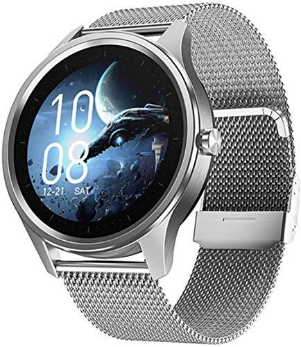 2021 Reloj inteligente Ejercicio Pulsómetro Monitor Impermeable Fitness Pulsera Hombres s Mujeres Smartwatch para Android-E