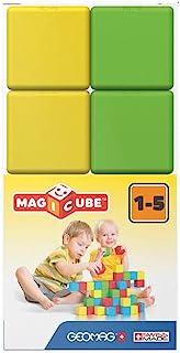 Geomag 147 Magicube Pre School - Magnetic Construction Cubes, 8 Pieces