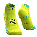 COMPRESSPORT Herren V3 Sock Low Flou Laufsocke Tief -