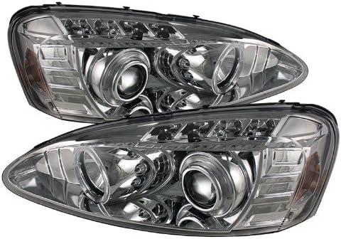 Details about  /04-08 PONTIAC GRAND PRIX HALO LED PROJECTOR HEADLIGHT LAMP CHROME W//BLUE DRL KIT
