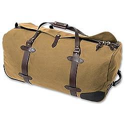 Duffel bag traditioanl wool 7th anniversary gift idea