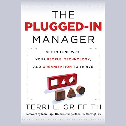 The Plugged-In Manager audiobook cover art