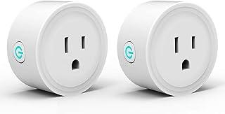 Mini Enchufe Inteligente, OIOSEN Wi-Fi Smart Plug funciona con Alexa, Google Home e IFTTT, electrodomésticos de control re...
