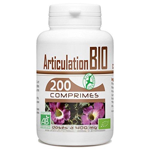 Articulation Bio 400mg - 200 comprimés - Harpagophytum, Reine des près, Prêle