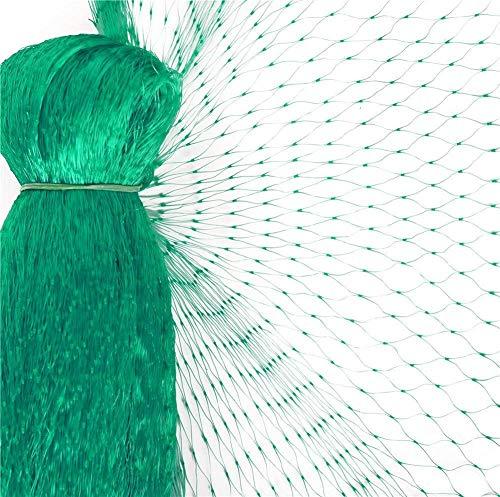 FEIGO Filet de Jardin Anti-Oiseaux - Filet de Protection Maille Contre Oiseaux et Animaux 10×4m - pour Bassin, Fruits, Légumes et Plantes - Vert