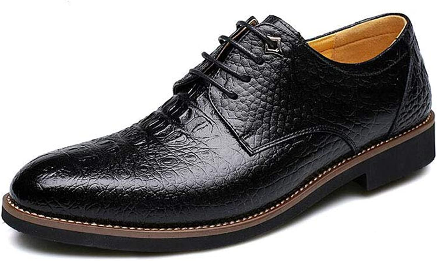 FF Men Leather shoes Genuine Leather Autumn Business Formal Wear Peas shoes
