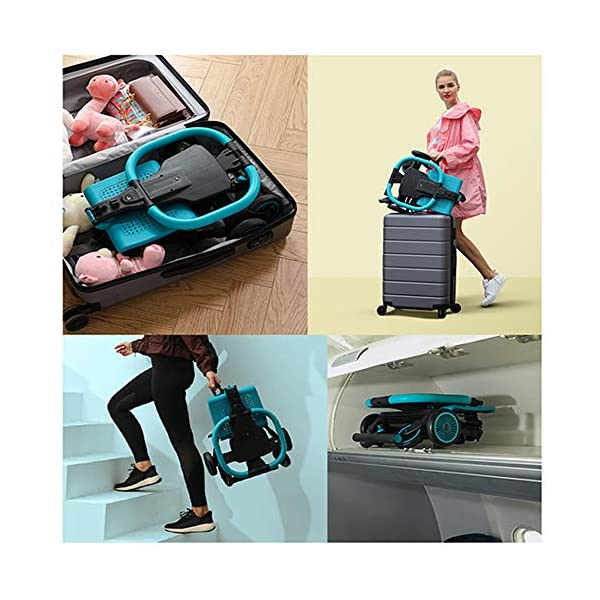 Makeups Foldable Portable Lightweight Baby Stroller Two Way Driving Baby Carriage Multipurpose Portable Baby Cart Adjustable Newborn Baby Crib Shock Absorption Can Sit Reclining Stroller Makeups Size: suitable from birth to 25 kg, length: 50.8 cm, width: 33 cm, height: 88 cm. Fold: 33cm * 16cm * 76cm. Ideal for plane, adapt to any car trunk. Designed with seat belt, non-slip grip, Top umbrella, seat cushion, bottom storage basket, all this will offer you great comfort. The stroller is equipped with adjustable belts to prevent the baby from falling. Have foot control brakes to stop at any time. 2