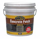 Damtite 04025 Gray Bonds-On Vinyl Concrete Patch, 25 lb. Pail