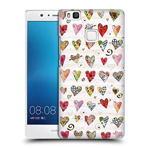 Head Case Designs Offizielle Turnowsky Liebesherz Nitz Natz Harte Rueckseiten Huelle kompatibel mit Huawei P9 Lite / G9 Lite