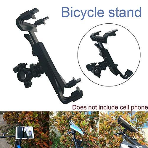 Modonghua - Supporto regolabile Moutik per tablet da 7,8 a 25,4 cm, supporto per tablet da bicicletta, supporto per telefono, tablet, per interni e palestra, tapis roulant, spinning, cyclette per iPad
