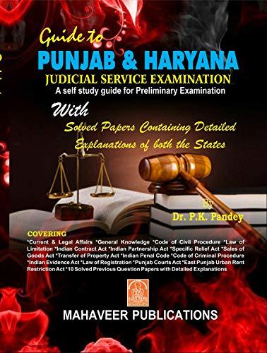 Guide to Punjab & Harayana Judicial Service (preliminary) Examination