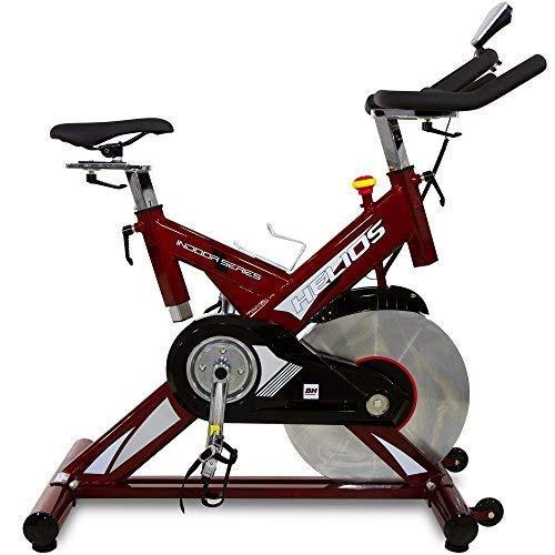 BH Helios Bicicleta ciclismo indoor. Volante inercia 22Kg - Uso Intensivo - Roja - H9178FD (Reacondicionado Certificado)