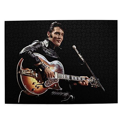 Elvis Presley Cozy Retreat   Puzzle de 500 piezas de gran formato para adultos   cada pieza es única, tecnología Softclick significa que las piezas se ajustan perfectamente