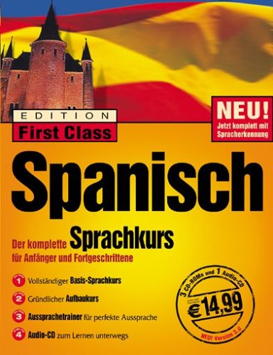 Preisvergleich Produktbild First Class Sprachkurs Spanisch 3.0