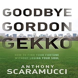 Goodbye Gordon Gekko cover art