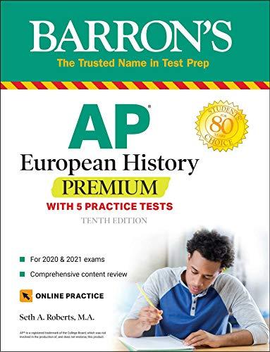 AP European History Premium: With 5 Practice Tests (Barron's Test Prep)