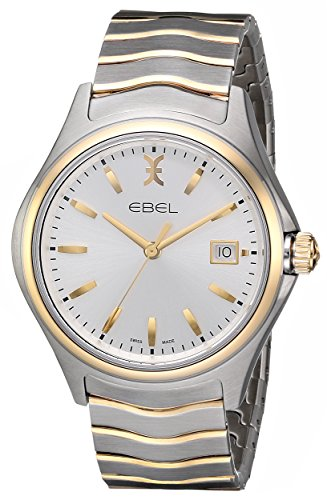 Ebel Herren 1216202 Wave Analog Display Swiss Quarz Zweifarbige Armbanduhr