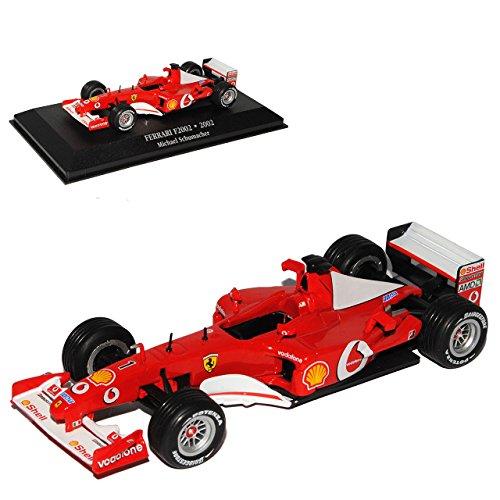 Atlas Ferrari F2002 2002 Michael Schumacher Weltmeister 2002 Formel 1 1/43 Modell Auto
