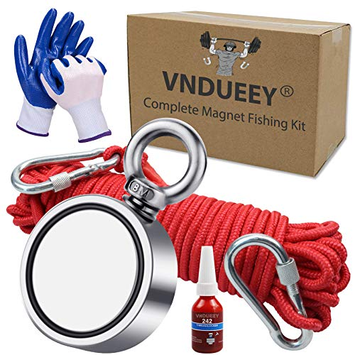 Magnet Fishing Kit with 660 lbs(300KG)...