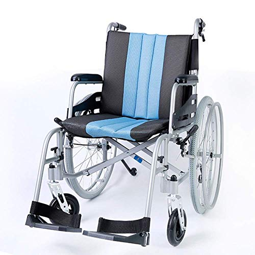 FTFTO Inicio Accesorios Silla de Ruedas Inteligente Plegable para Ancianos discapacitados Silla de Ruedas Scooter para Ancianos