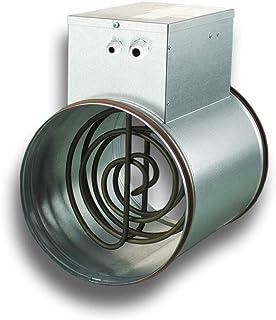 Radiador eléctrico para sistemas de tubos redondos (tipo 125-0,8-1)