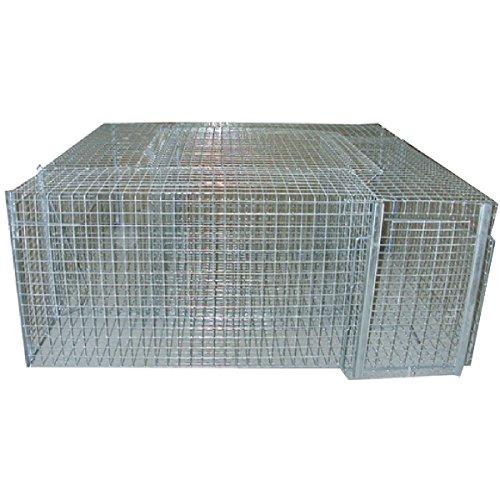 Cage carrée à pies 4 compartiments