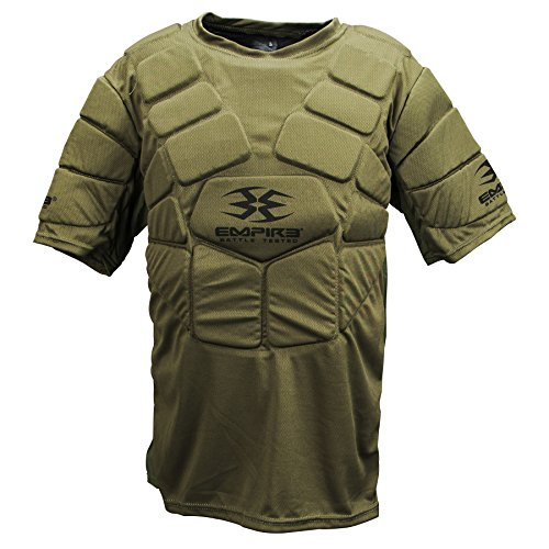 Empire Paintball BT Chest Protector, Olive, Small/Medium