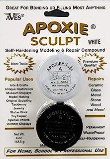 Apoxie Sculpt - 2 Part Modeling Compound (A & B) - 1/4 Pound, White
