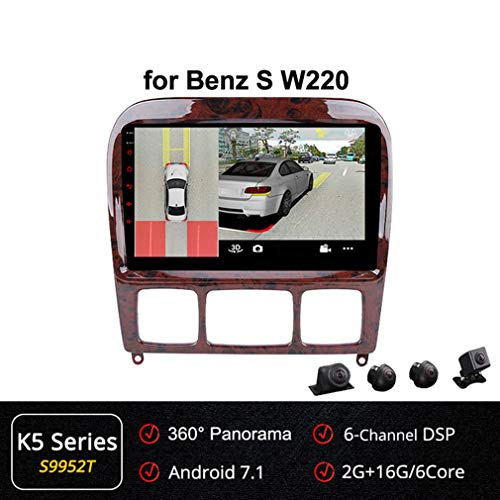 Lowest Prices! XBRMMM 2+32G Car Navi GPS Stereo Android 9 Inch Autoradio for Mercedes Benz S Class W...
