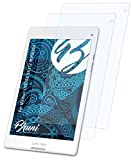 Bruni Schutzfolie kompatibel mit Medion LIFETAB S8312 MD98989 Folie, glasklare Bildschirmschutzfolie (2X)
