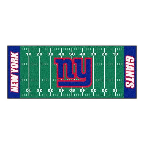 FANMATS NFL New York Giants Nylon Face Football Field Runner