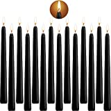 SaiXuan Tall Taper Candles 14 Pack, Conical Candles 10 Inch Tall Wedding Dinner