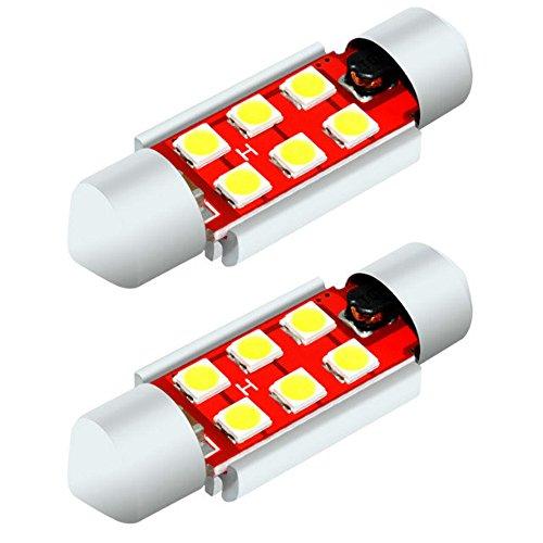 MCK Auto - Remplacement pour Kit d'ampoules à LED blanches CanBus de 36mm, très clair et sans erreur, compatible avec F30 F31
