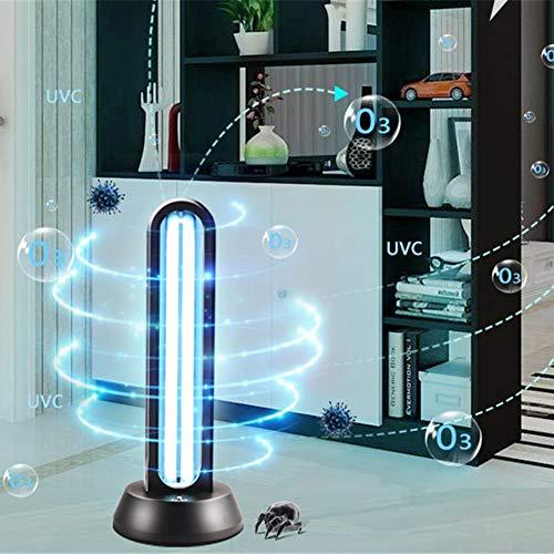 SHELLTB UV-Licht UV-Licht keimtötende Licht Quarzlampe mit Ozon tötet 99,9% der Bakterien Schimmel Keim Viren Fernbedienung für Wohnbereich 65W,1PCS