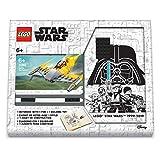 Lego Star Wars Naboo Starfighter Creativity Set con diario certificato FSC e penna gel nera