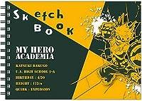 ヒサゴ 僕のヒーローアカデミア 図案スケッチブック 爆豪勝己 HH0882 【まとめ買い5冊セット】