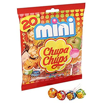 chupa chups mini bag 20 per pack Chupa Chups Mini Bag 20 per Pack 51E2Am8iKpL
