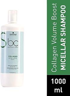 Schwarzkopf Professional BC Champú Volume Boost Miscelar 1000 ml