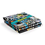 Skinit Decal Gaming Skin Compatible with PS4 Pro Console - Officially Licensed Warner Bros Batman Comic Book Design