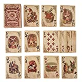 ASVP SHOP? Alice In Wonderland Playing Cards Party Props Decoration Theme Full Set by