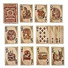ASVP Shop Alice In Wonderland Speelkaarten - Volledige Set - Perfect voor cadeaus, spellen, decoratie, Alice in Wonderland Feestartikelen en decoratie