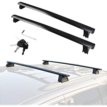 YITAMOTOR Roof Rack Crossbars OE Style Cross Bars Set for 2007-2011 Honda CR-V